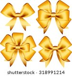 set of colorful gift bows.... | Shutterstock .eps vector #318991214