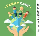 Vector Family And World Care...