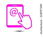 touch screen tablet pc sign...