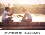 friendship  | Shutterstock . vector #318998291