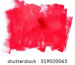 a close up shot of painting... | Shutterstock . vector #319020065