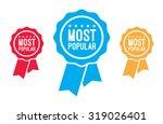 most popular ribbons | Shutterstock .eps vector #319026401