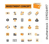 investment  bank  finanace icons | Shutterstock .eps vector #319026497