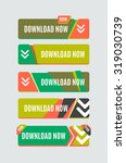 colorful download web button...