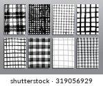 abstract grunge pattern... | Shutterstock .eps vector #319056929