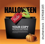 Halloween Sale Shopping Bag...
