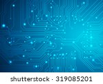technological vector background ...   Shutterstock .eps vector #319085201