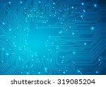 technological vector background ...   Shutterstock .eps vector #319085204