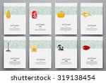corporate identity vector... | Shutterstock .eps vector #319138454