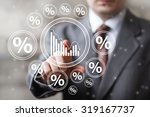 Man With Chart Online Business...