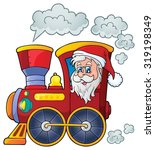 Christmas Locomotive Theme...