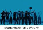 business people new york... | Shutterstock . vector #319198979