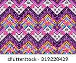 geometric ethnic pattern... | Shutterstock .eps vector #319220429