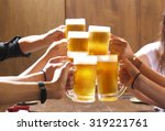 toast for beer | Shutterstock . vector #319221761
