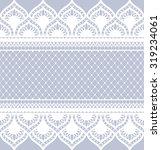 seamless lace pattern  flower... | Shutterstock .eps vector #319234061