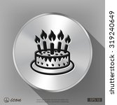 pictograph of cake | Shutterstock .eps vector #319240649