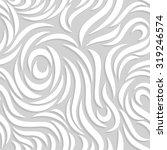 vector wavy seamless pattern.... | Shutterstock .eps vector #319246574