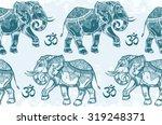 Ethnic Ornate Seamless Pattern...