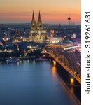 Small photo of Cologne in German