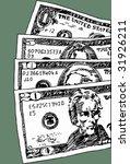 cash   Shutterstock .eps vector #31926211