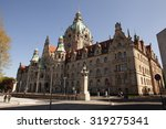 Stock photo hanover germany may hannover town hall neues rathaus in hanover germany on may 319275341