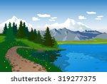 beautiful landscape   Shutterstock .eps vector #319277375