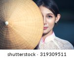 portrait of thai girls with ao... | Shutterstock . vector #319309511