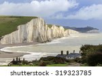 Seven Sisters Cliffs In The...
