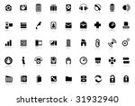 web icons   internet icon...   Shutterstock .eps vector #31932940