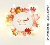 vector illustration of bright... | Shutterstock .eps vector #319352984