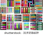colorful modern text box... | Shutterstock .eps vector #319358609