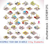 city building plan factory or... | Shutterstock . vector #319389191