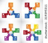 infographics template... | Shutterstock .eps vector #319395311