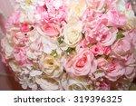wedding flowers | Shutterstock . vector #319396325