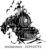woodcut style image of a... | Shutterstock .eps vector #319413791