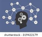 internet of things and thinking ...   Shutterstock .eps vector #319422179
