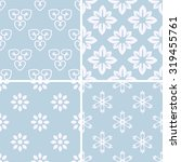 seamless patterns with... | Shutterstock .eps vector #319455761