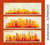vector horizontal banners...   Shutterstock .eps vector #319464245