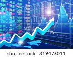stock market concept and... | Shutterstock . vector #319476011