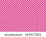 White Dot On Pink Background