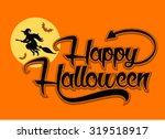vector illustration of... | Shutterstock .eps vector #319518917