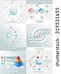 vector element with colored... | Shutterstock .eps vector #319531655