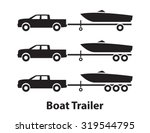 Boat Trailers Symbol
