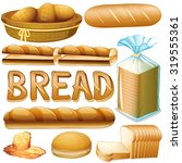 bread in various kinds...