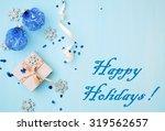 happy holidays   Shutterstock . vector #319562657