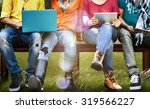 students education social media ... | Shutterstock . vector #319566227