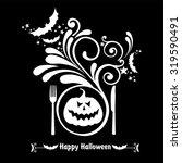 Happy Halloween. Halloween Men...