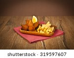 turkish ramadan food icli kofte ...   Shutterstock . vector #319597607