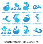 vector collection of water logo ...