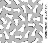 arrows grey background | Shutterstock .eps vector #319654514